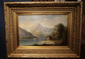19th century painting mont BlancSOLD