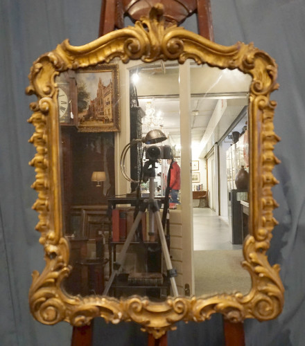 Carved and gilded Venetian mirrorSOLD