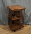 Walnut revolving bookcaseSOLD