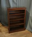 Open bookcase mahoganySOLD